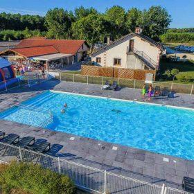 activités camping piscine landes