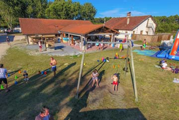 camping activité jeunes parents landes