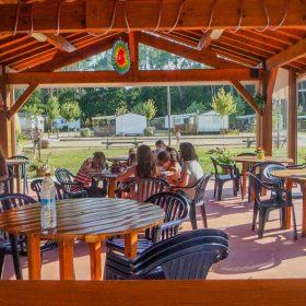 Camping Landes restaurant