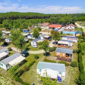 location camping familial landes