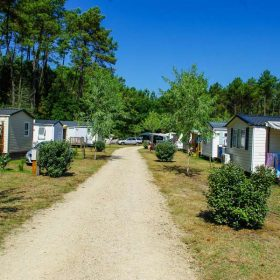 Mobil-home camping Landes