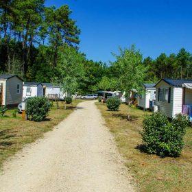Mobil-home camping Landes