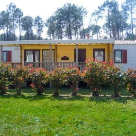 Mobil-home location Landes