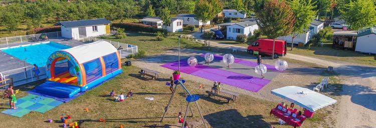 vacances camping activité landes