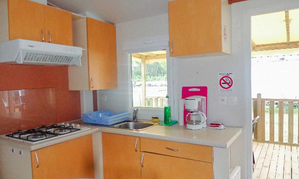 Louer mobil-home camping Landes