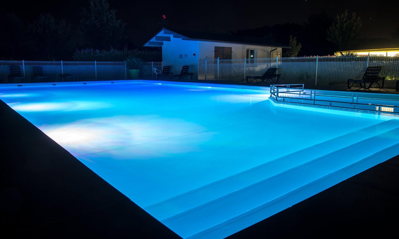 camping location piscine landes