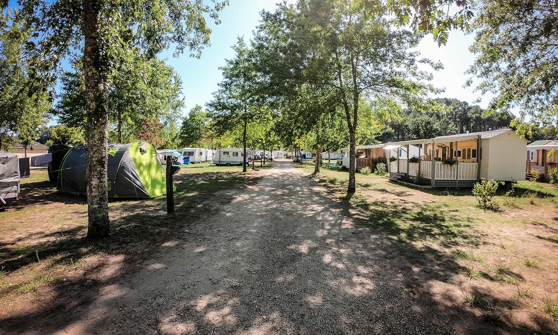 location camping vacances landes