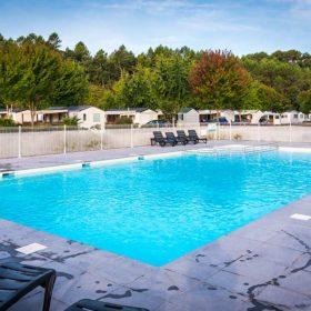piscine camping landes