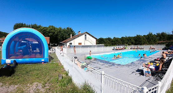 informations camping landes